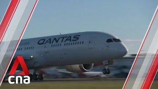 Qantas completes nonstop test flight from New York to Sydney Video