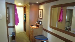 Disney Magic Deluxe Oceanview Stateroom with Verandah #8550