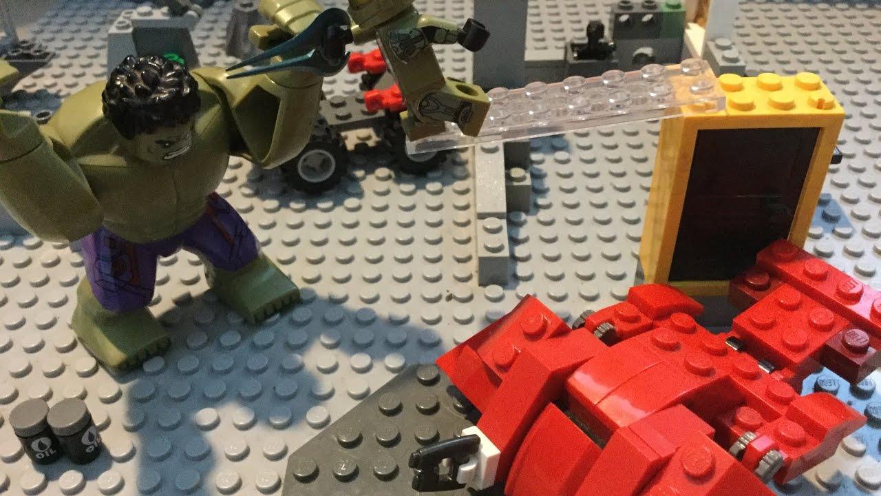 Lego battle ep. 2 |HULK VS HALO Master Chief | EPIC BATTLE ...  Lego battle ep....