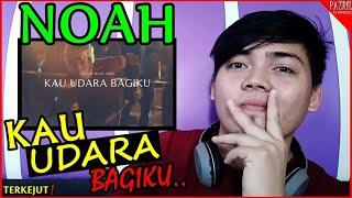 NOAH - Kau Udara Bagiku (Official Music Video) Reaction From Malaysia