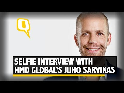 The Quint: We Speak to HMD Global's Juho Sarvikas About the New Nokia | The Quint