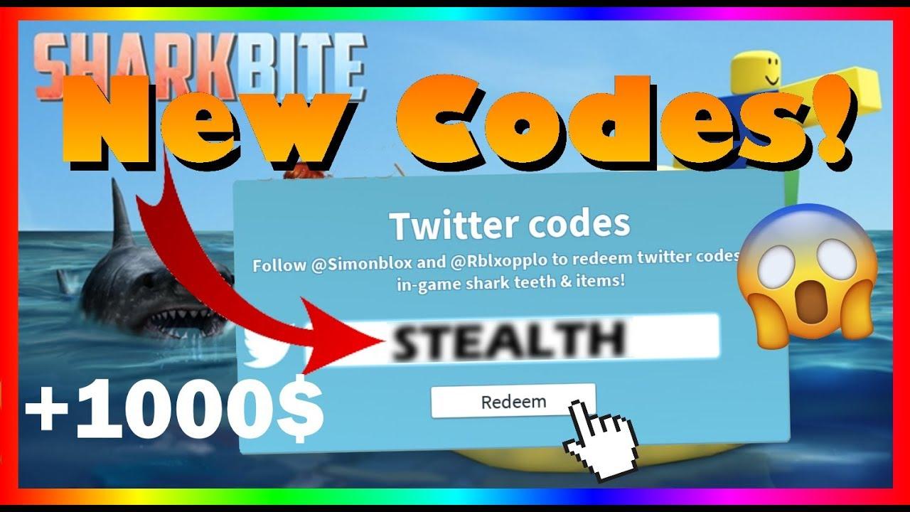 roblox sharkbite codes 2019 august
