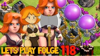 "Clash of Clans Deutsch | Folge 118. ""Vallkyren 4x Gegemmt"" Let´s Play"