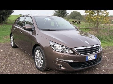 new peugeot 308 1 6 hdi 2014 test drive youtube. Black Bedroom Furniture Sets. Home Design Ideas