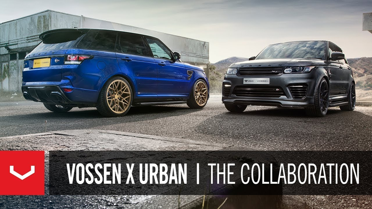 Urban Automotive x Vossen Forged Wheels for Land Rover and Range Rover