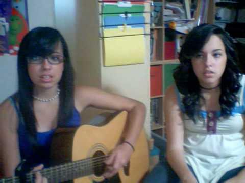 Michele and Melissa singing Hazy by: Rosi Golan