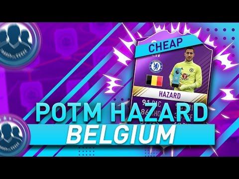 Hazard POTM - 'BELGIUM' SBC Cheapest Solution | Squad Building Challenge Guide | FIFA 17