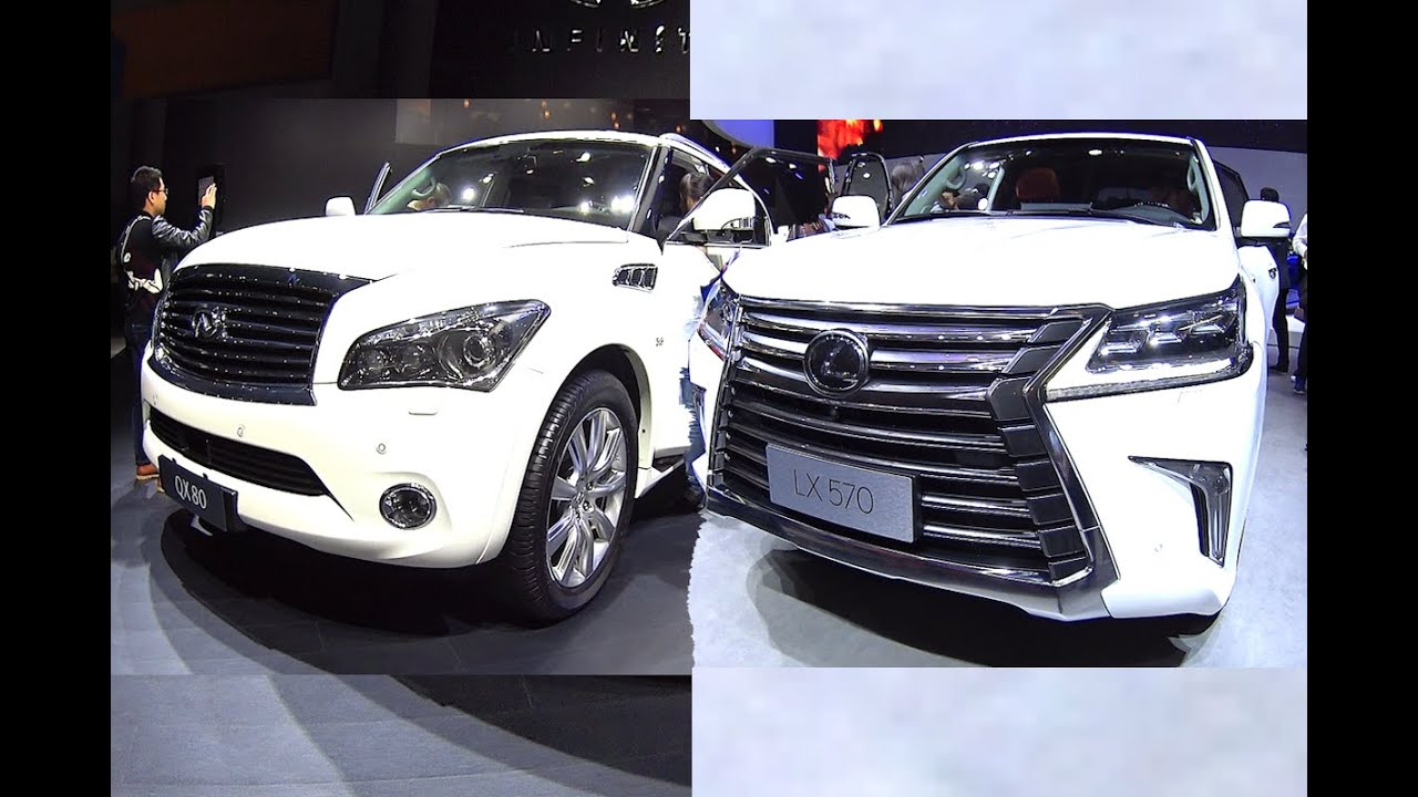 Officially New 2016, 2017 Infiniti QX80 VS 2016, 2017