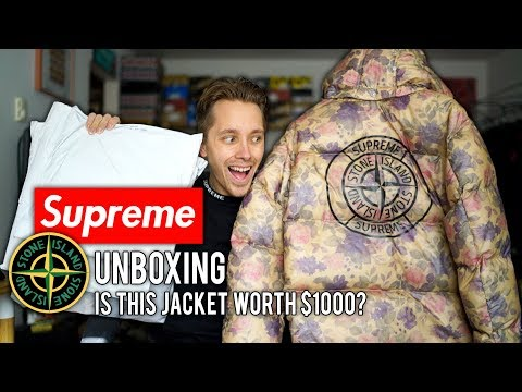 Supreme x Stone Island UNBOXING + Is This Jacket Worth $1000?!