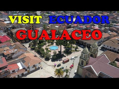 GUALACEO ECUADOR 2018, WALKING IN GUALACEO. 2,7K