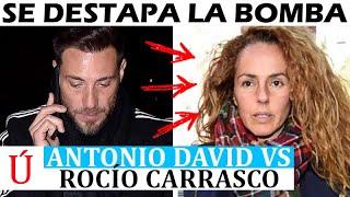 ¡Muy fuerte! La BOMBA secreta de Antonio David contra Rocío Carrasco y Sálvame