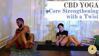 Energizing CBD Yoga for Core Strengthening with a Twist