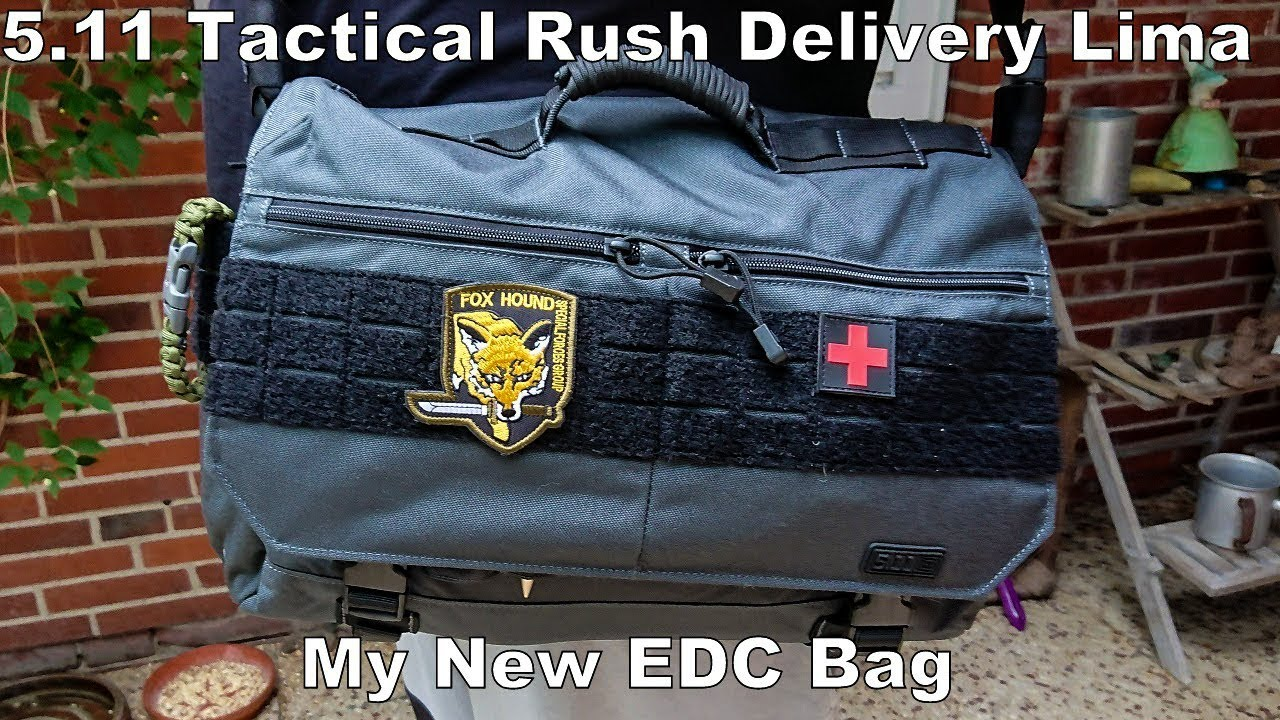 5 11 Tactical Rush Delivery Lima My New Edc Bag