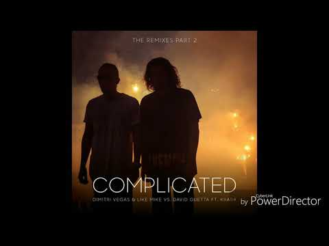 Dimitri Vegas Like Mike & Kiiara David guetta - Complicated (Robin Schulz Remix)