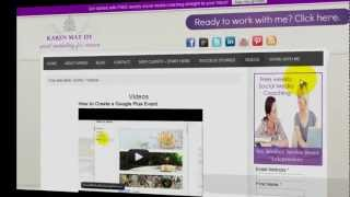 How to Create a Video Gallery on Your Wordpress Blog(http://socialmediamarketinggirl.com In this video, learn how you can easily create a video gallery and boost more visibility for your YouTube or Vimeo videos and ..., 2012-07-24T07:08:45.000Z)