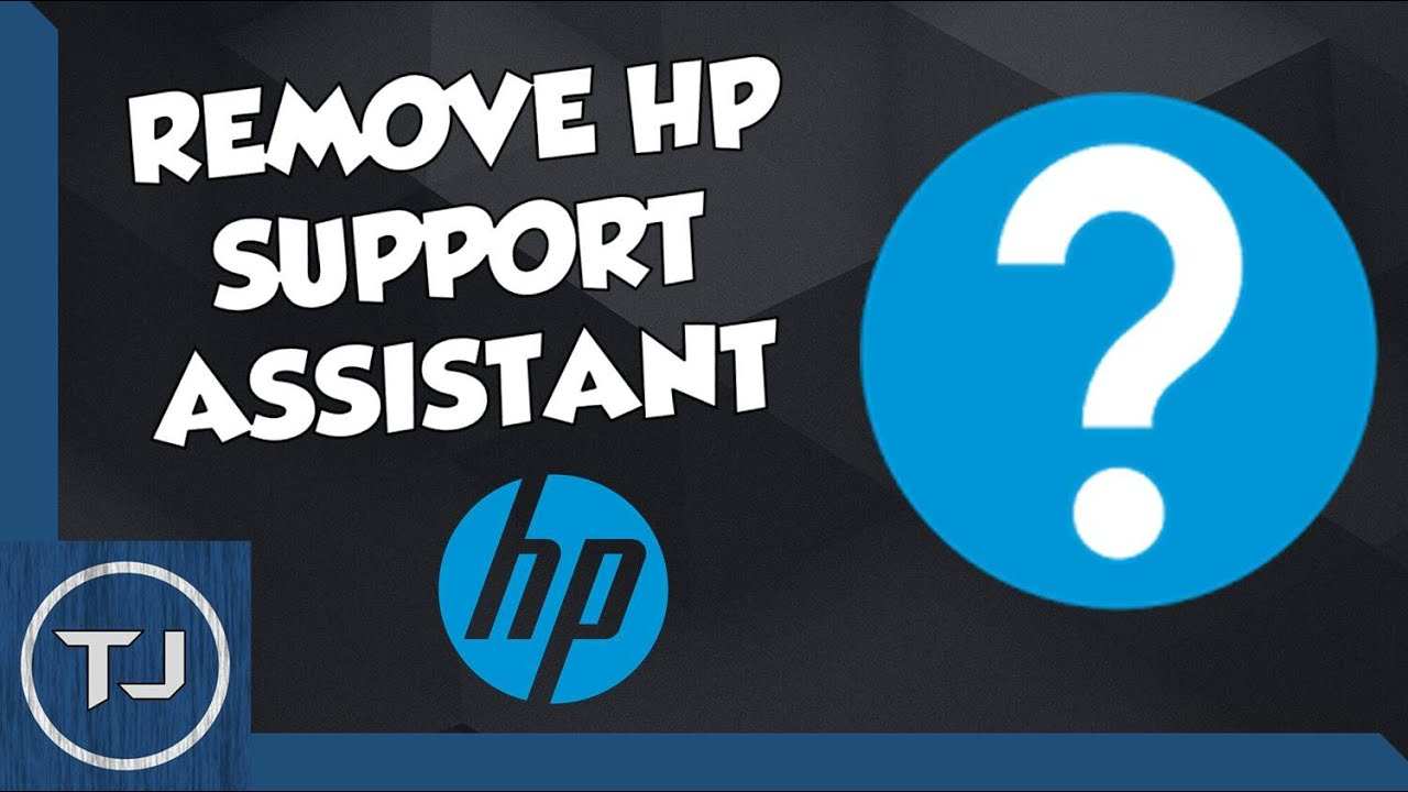 How To Remove/Un-install HP Support Assistant! 2017! - YouTube