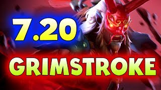 7.20 GRIMSTROKE FIRST PRO GAME! - NEWBEE vs KEEN - H-CUP DOTA 2