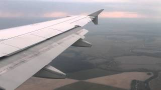 U6 106. Landing in Domodedovo International Airport (Moscow)