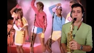 Wake me up before you go go - Wham! (by SaxPinelin) Sax Cover