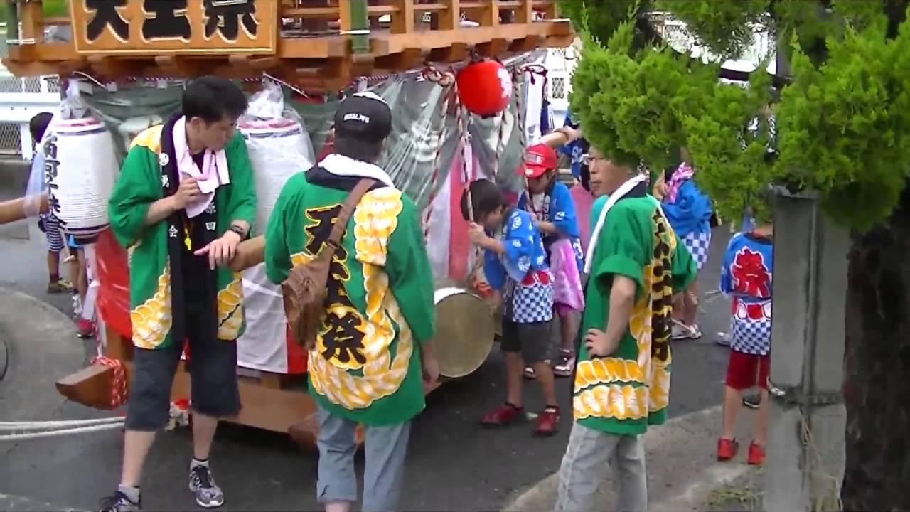 2016年 四日市市河原田神社天王...