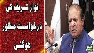 Court approved immunity application of Nawaz Sharif in Flagship reference | Neo News