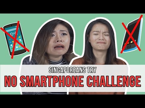 Singaporeans Try: The No Smartphone Challenge