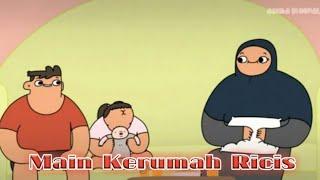 Kompilasi Video Lucu Anima si nopal| main ke rumah Kak Ricis