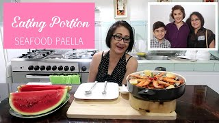 Eating Portion | Seafood Paella | Crispy Fry Event