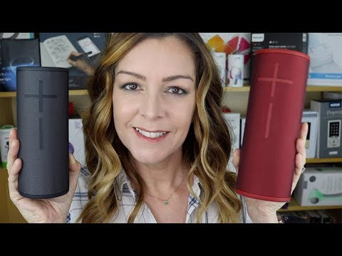 Ultimate Ears Boom 3 & Megaboom 3 Blogger Review