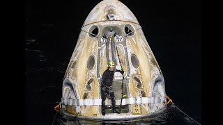 NASA's SpaceX Crew-1 Mission Splashes Down