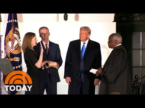 Amy Coney Barrett Sworn In As Supreme Court Justice | TODAY