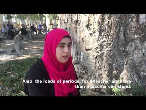Life of Palestinian Refugees