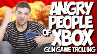 """COD GHOSTS: ANGRY PEOPLE OF XBOX #10 - """"GUN GAME TROLLING"""" PISSED OFF ORPHAN!"""
