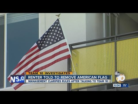 College Student Told To Remove American Flag From Apartment Balcony