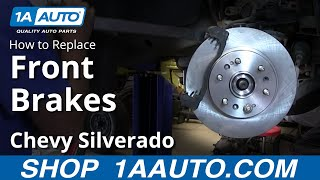 How to Replace Front Brakes 07-14 Chevy Silverado