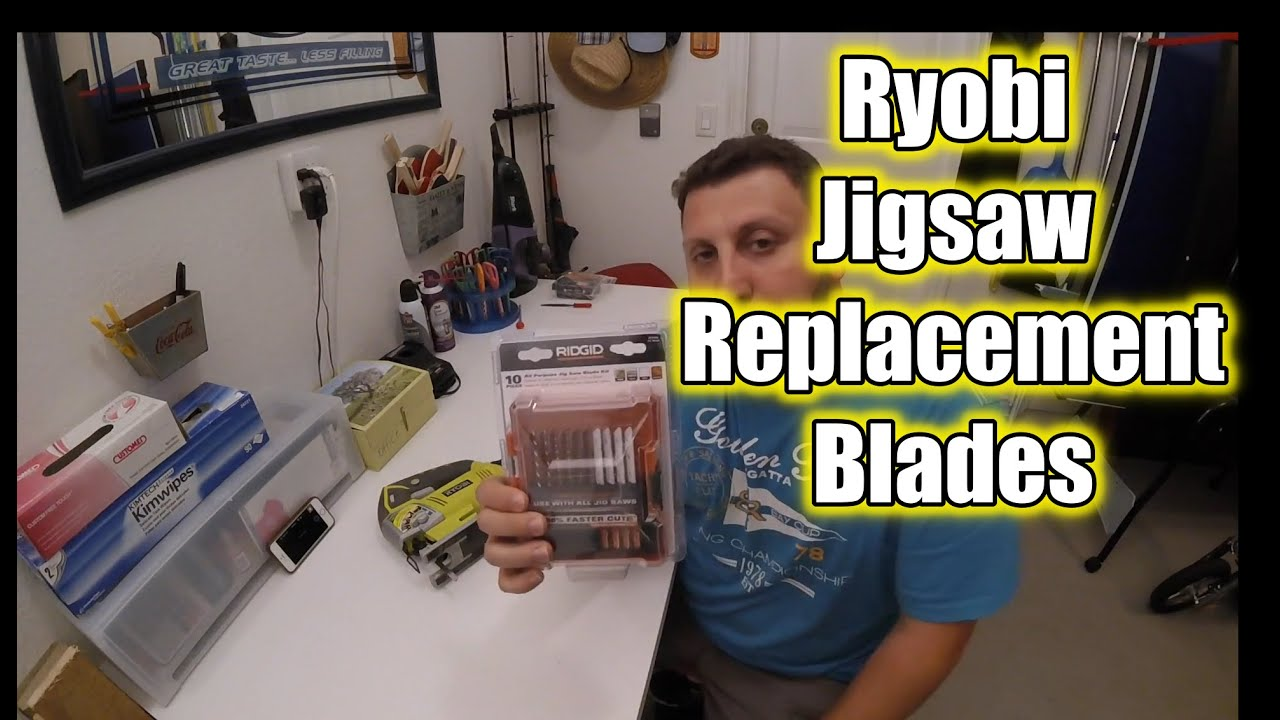Where to get ryobi jigsaw replacement blades youtube greentooth Choice Image