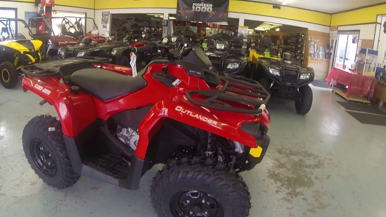 for sale 2016 can am outlander l 450 full walk around. Black Bedroom Furniture Sets. Home Design Ideas