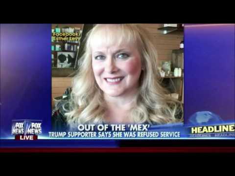 Woman claims a Mexican restaurant denied...
