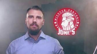 JONE'S Miesten Parturi - ONE MAN