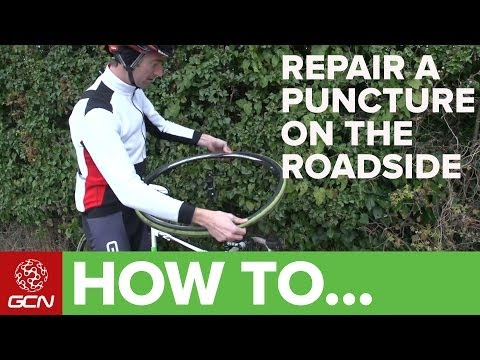 How To Repair A Puncture On The Roadside - GCN's Roadside Maintenance Series