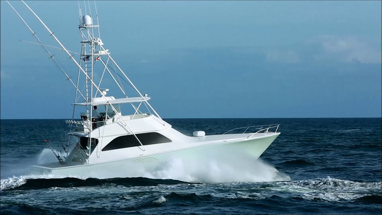 Viking Sportfish Underway