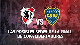River vs Boca: Las posibles sedes de la final de Copa Libertadores 2018
