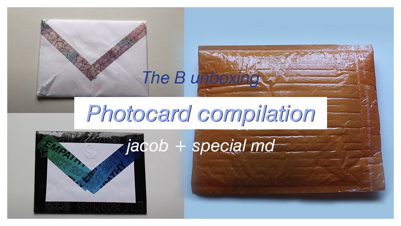 Mini Photocard Unboxing Compilation The Boyz Jacob Special Md Youtube