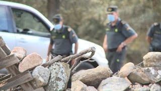 Encuentran restos óseos donde Guardia Civil busca el cuerpo de Manuela Chavero