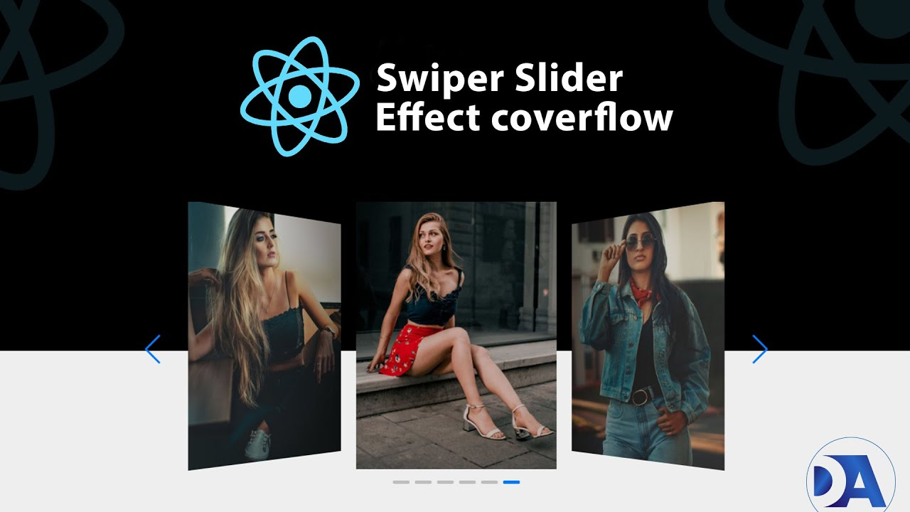 Create a carousel slider from scratch | How to use Swiper Slider in React| Swiper slide js