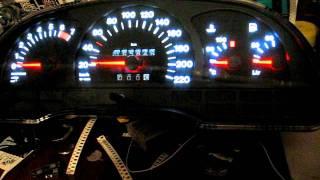 Подсветка приборной панели Opel Vectra A