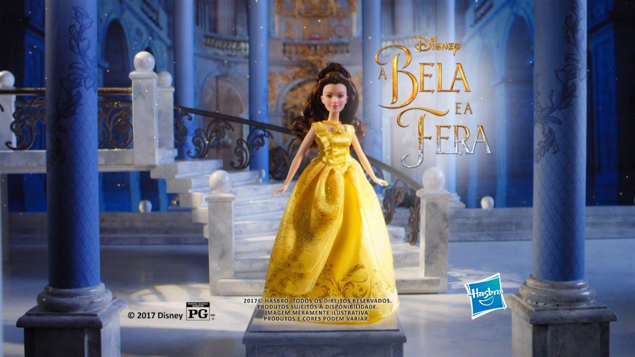A Bela e a Fera - Boneca Bela Melodia Encantada (Locutora Juliana Ladeira) df7f6dc1769