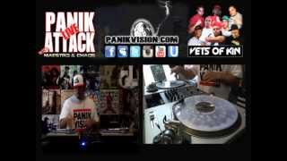 DJ Chaos Live Hip Hop Mix On The PanikAttack (Vets Of Kin Edition) - May 25, 2013