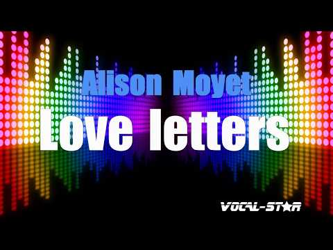 Alison Moyet - Love Letters (Karaoke Version) With Lyrics HD Vocal-Star Karaoke