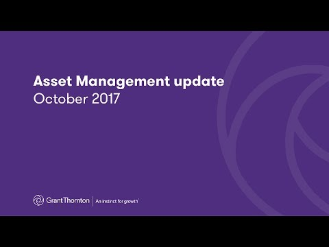 Asset Management update - October 2017
